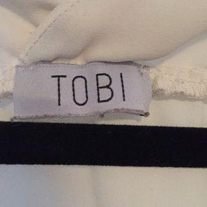 Tobi Tops - Chiffon V-Neck Blouse